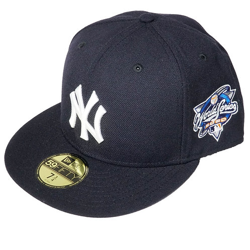 "NEW ERA ""New York Yankees Fitted Cap""(Sidepatch 有り World Series 2000)"