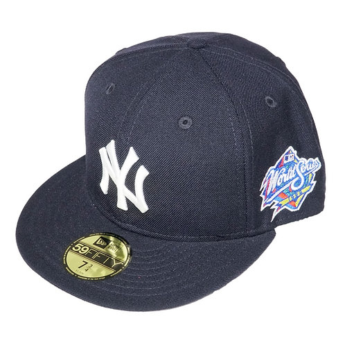 "NEW ERA ""New York Yankees Fitted Cap""(Sidepatch 有り World Series 1998)"