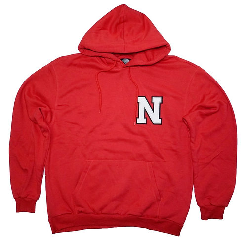 NEW LIFE APPARELL N logo Pull Over Hoody