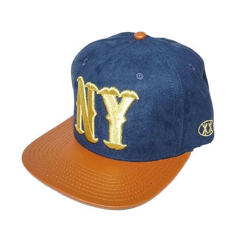 TWNTY-TWO NY Premium Suede Strapback Cap