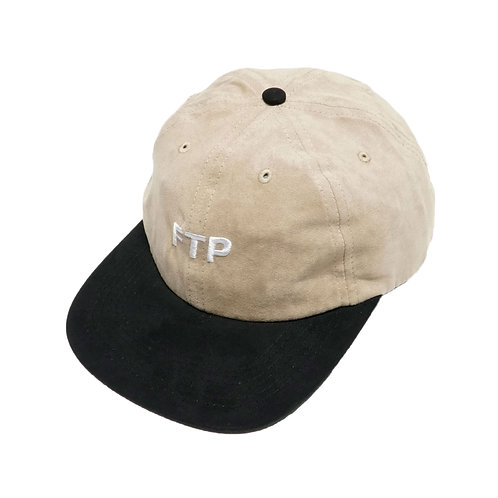 FTP SUEDE LOGO HAT