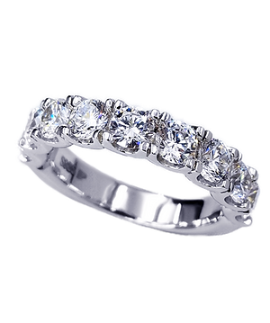 Half eternity ring