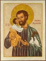Saint Joseph religious icon image