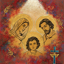 religious image/ painting/ Holy Family