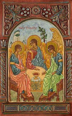 religious icon image The Holy Trinity