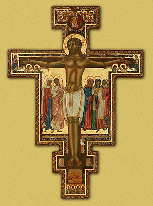 Religious Icon image of the Cross of San Damiano