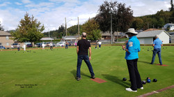 Bowling in Powell River.