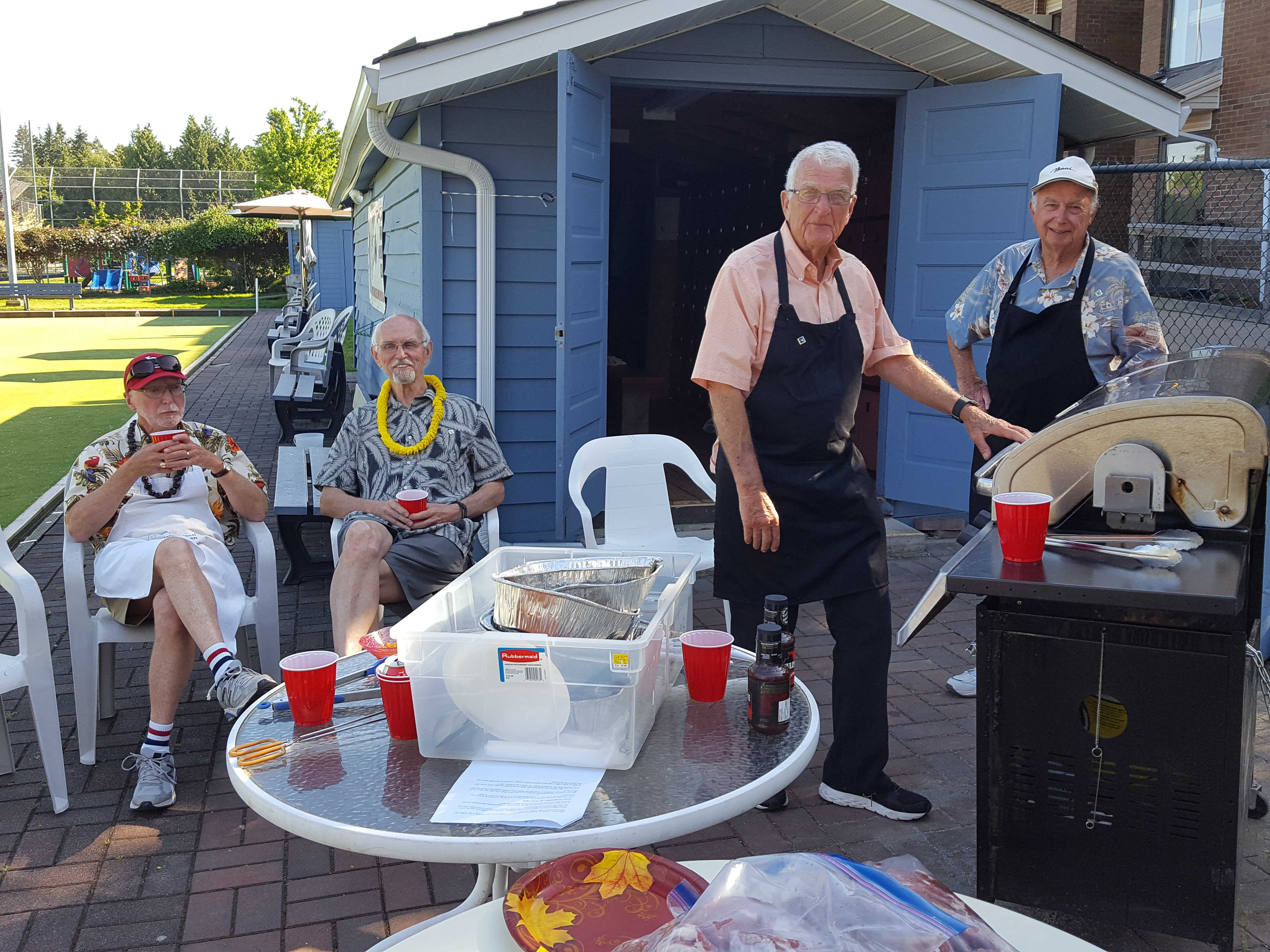 Victoria Day BBQ'ers