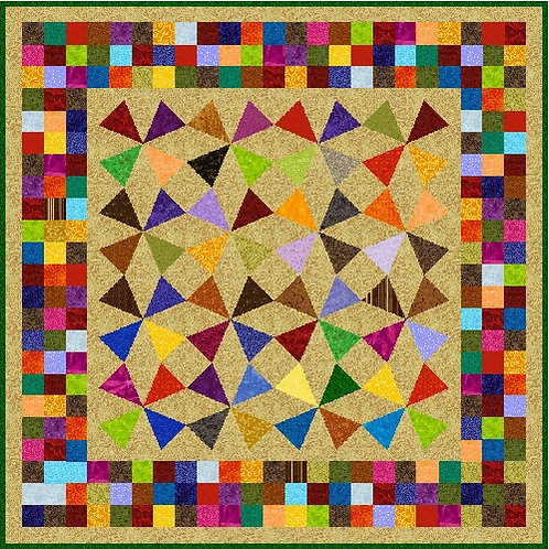 Mosaic Kaleidoscope ***