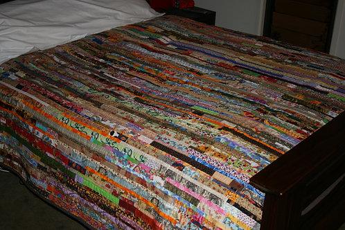 Print Strippy Quilt