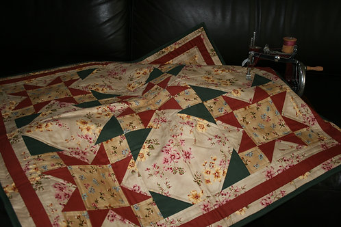 Starburst In Bloom Quilt