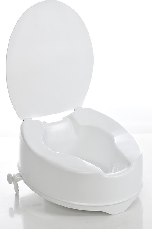 Raised Toilet Seat With Cover 1531BN