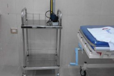 EL-MANAR STAINLESS STEEL MEDICAL CART 1 & 2