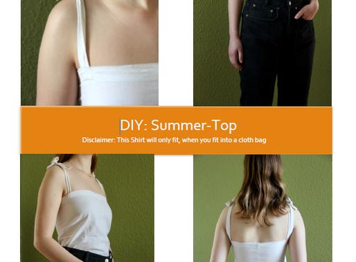 DIY- Summer Top