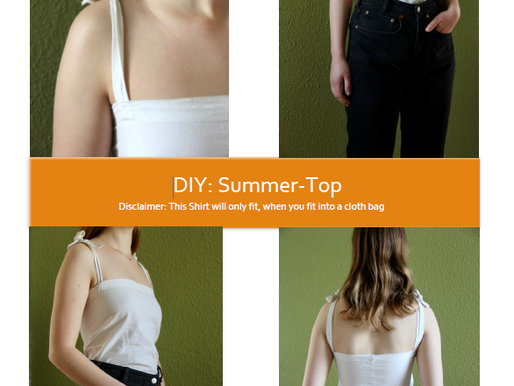 DIY- Summer Top