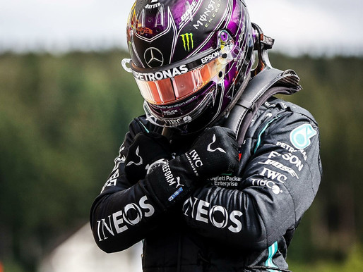 Lewis Hamilton - my pandemic hero