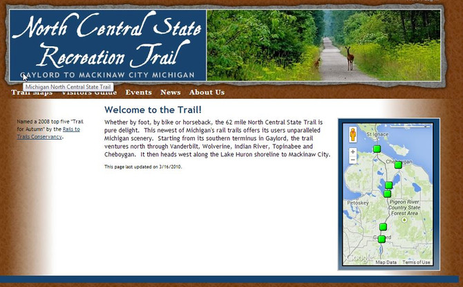 Rails to Trails - Tip of the Mitten