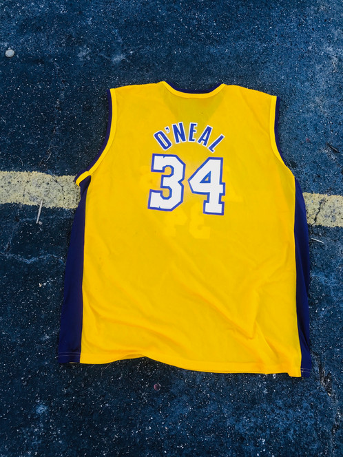 924ae3befa0 48 CHAMPION SHAQUILLE O'NEAL LOS ANGELES LAKERS JERSEY