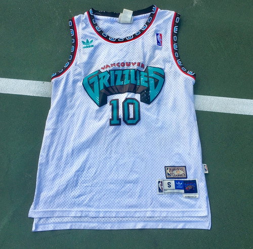 24fc6801dd7 SMALL ADIDAS MIKE BIBBY VANCOUVER GRIZZLIES JERSEY