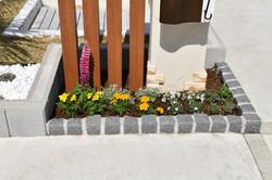 機能門柱/花壇