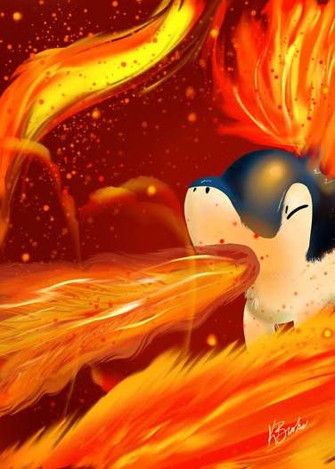 Cyndaquil Fire Blast