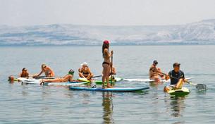 ספורט ימי וסאפים בכנרת