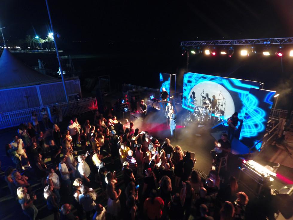 אירועים והופעות בגן בכנרת סאות ביץ