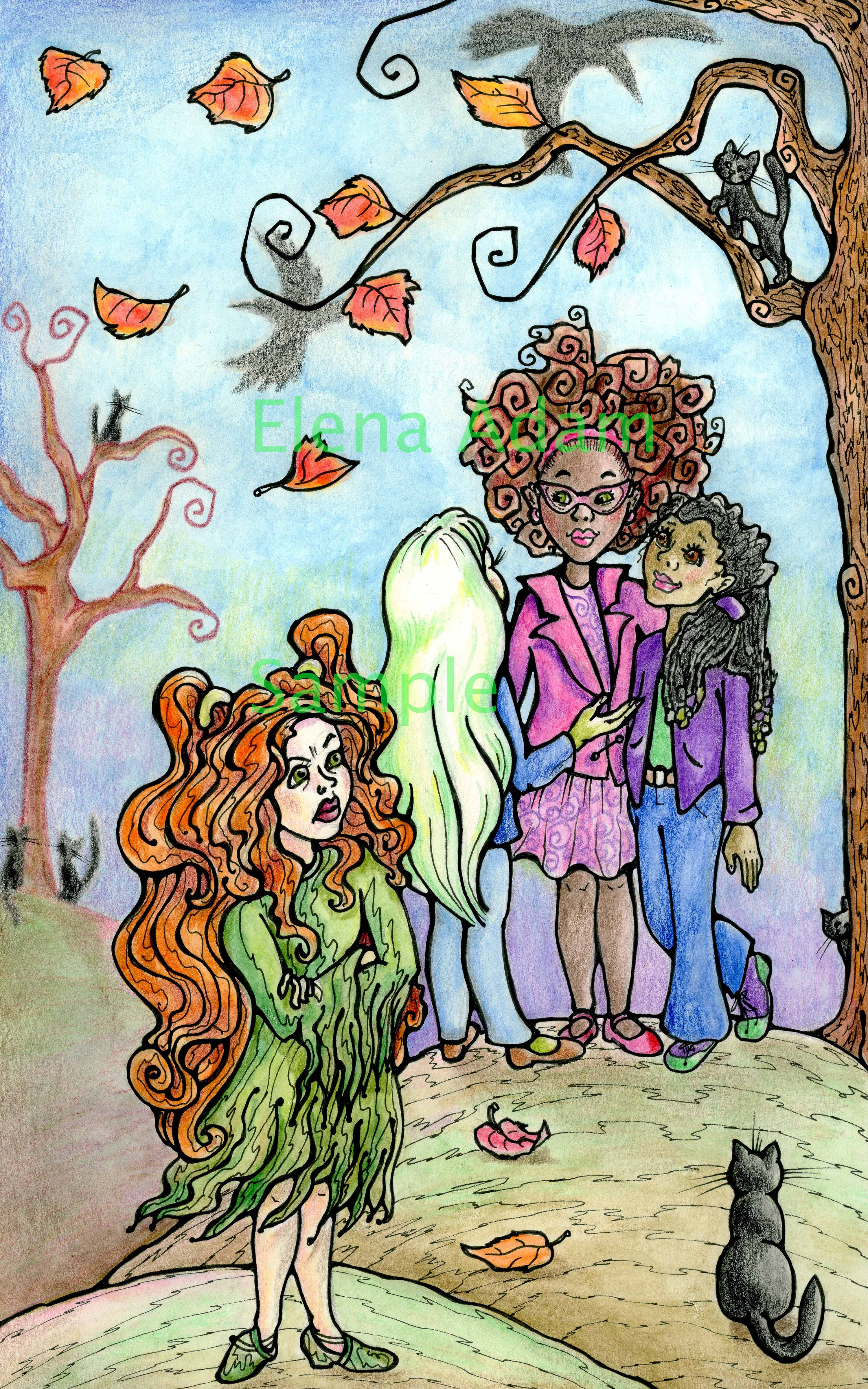 Freya and friends