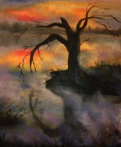 """Fog on the lake"""