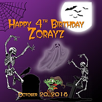 HAPPY BIRTHDAY ZORAYZ