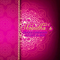 Shrinitha's Cradle Ceremony