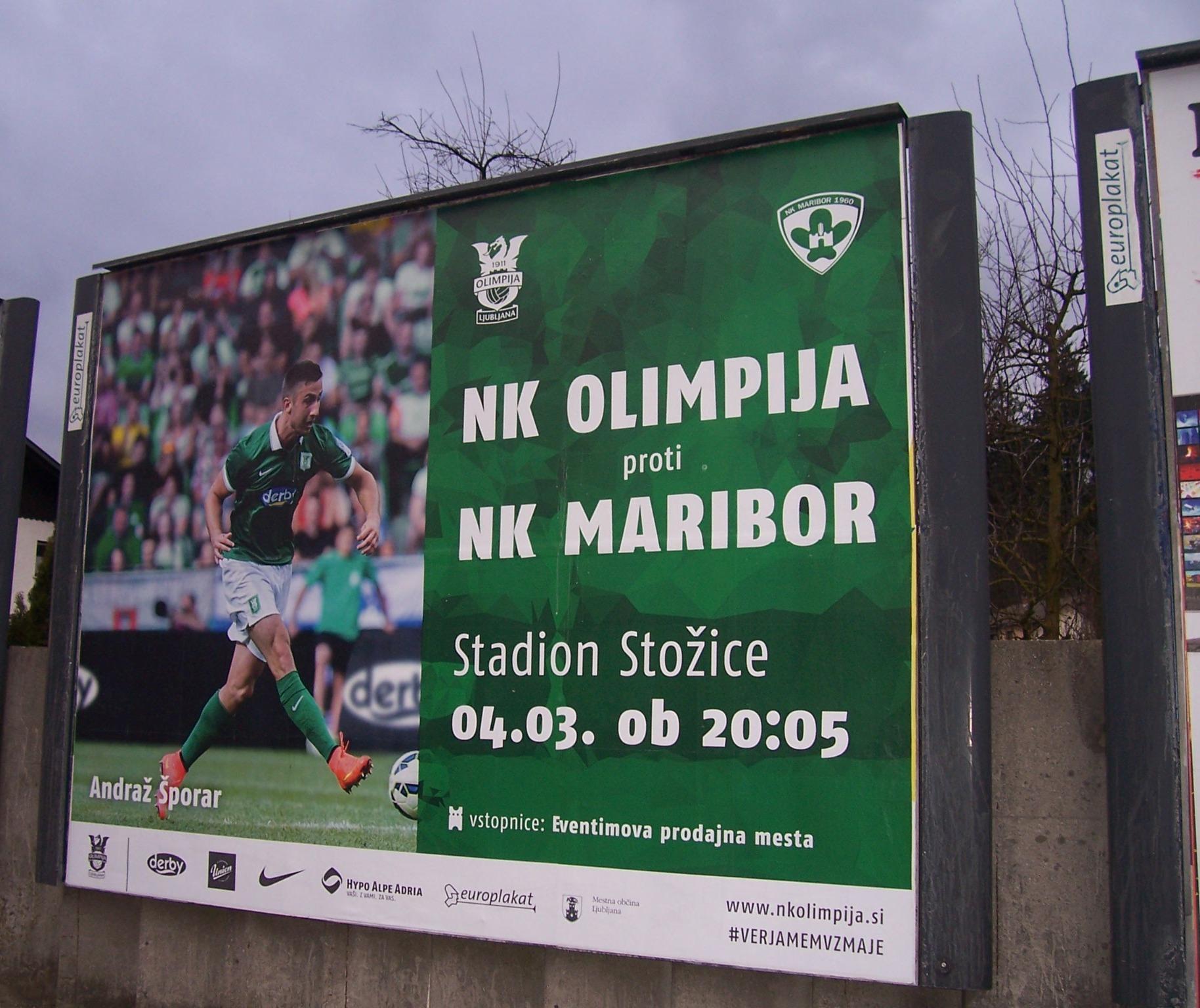 NK Olimpija campaign 2015.