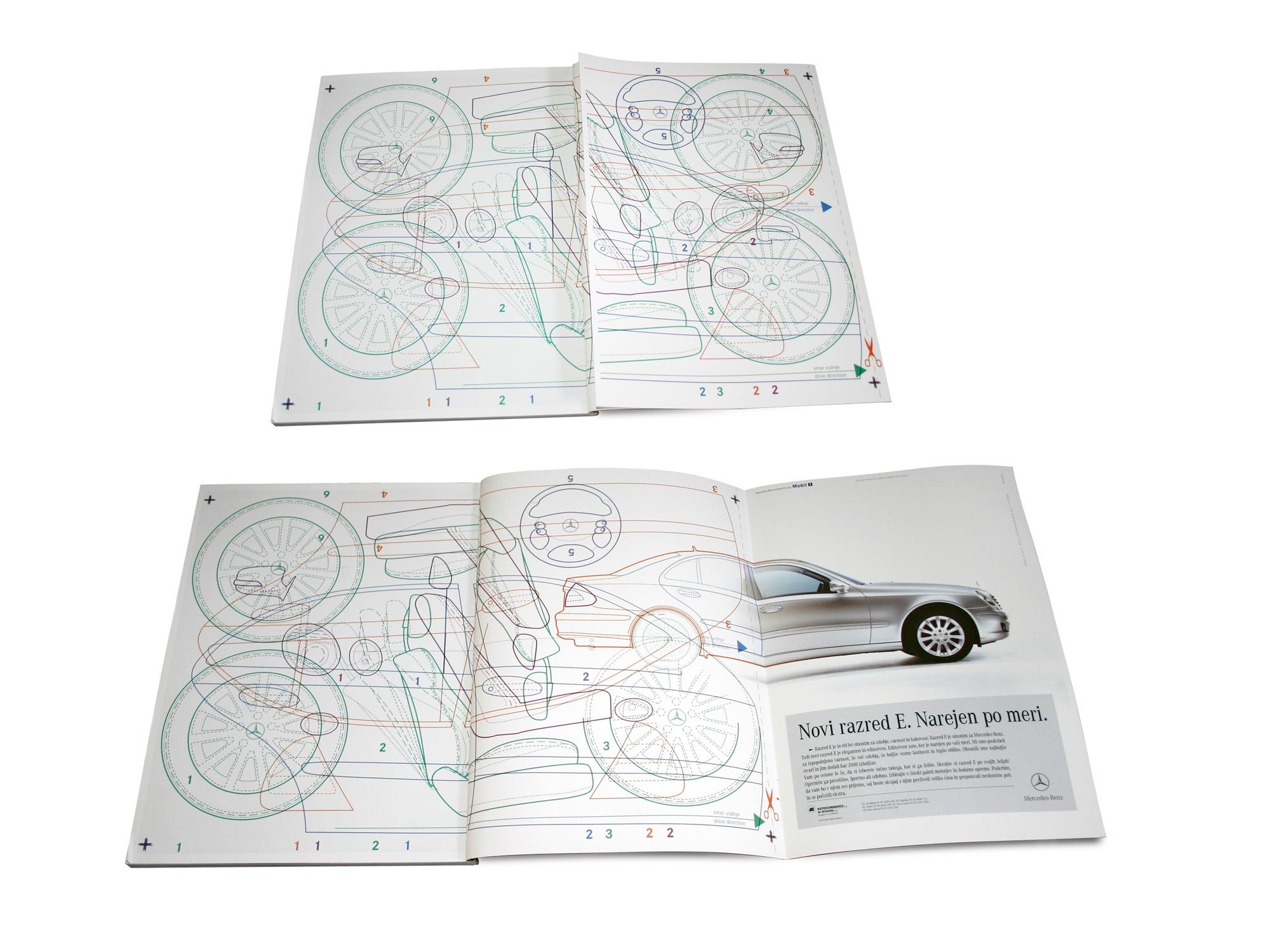 Mercedes-Benz. Print. Image.