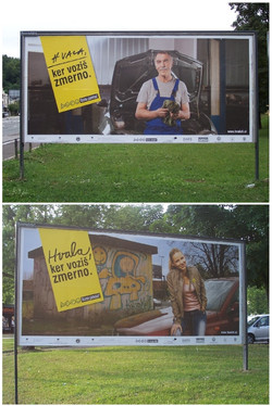 Road safety. Campaign.
