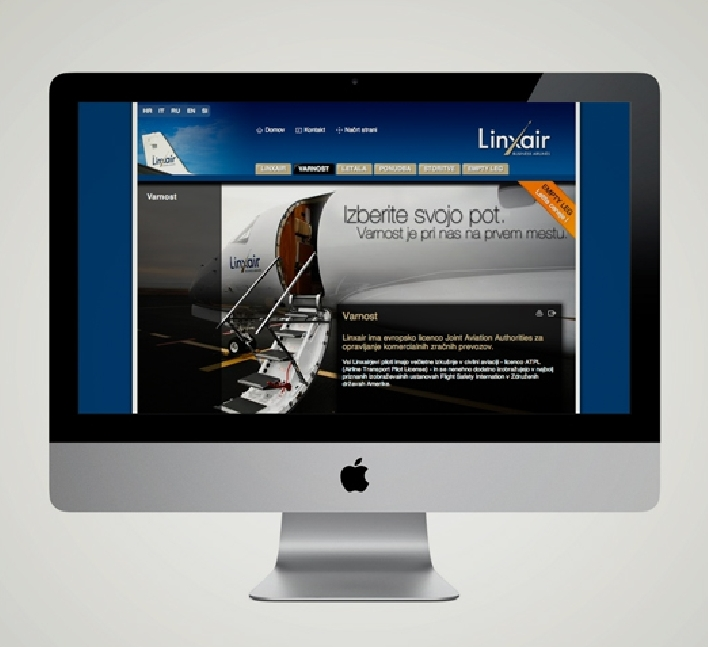 Linxair. Online. Website.