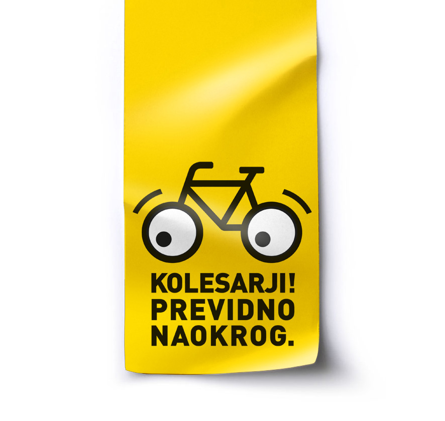 Road safety. Campaign. Logo.