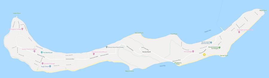 Savary Island Map.png