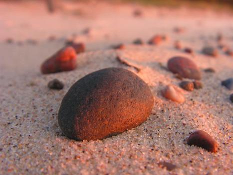 Pebbles at sunset.jpg