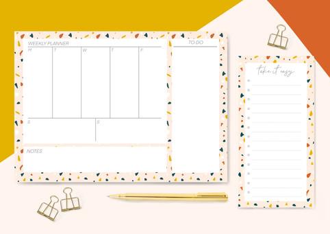 Terrazzo Deskpads
