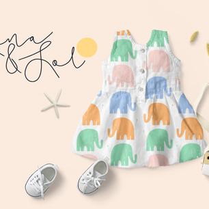 Branding for Children's clothing brand '