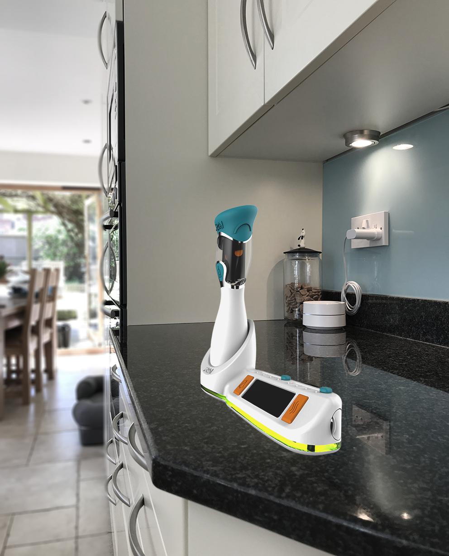 device in kitchen