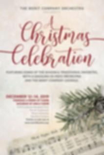 A Christmas Celebration_Poster_No Bleed.
