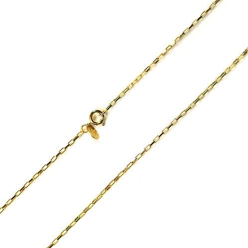 Corrente Cartier 60cm Banhada a Ouro 18K