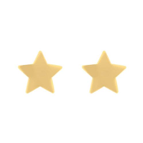 Brinco Estrela Infantil ou 2º Furo