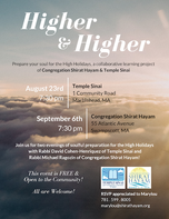 Higher & Higher Event Flyer