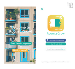 Room 2 Grow - Mobile App
