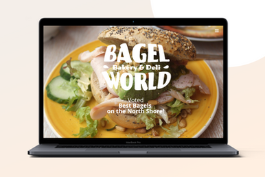 Bagel World - Restaurant Branding