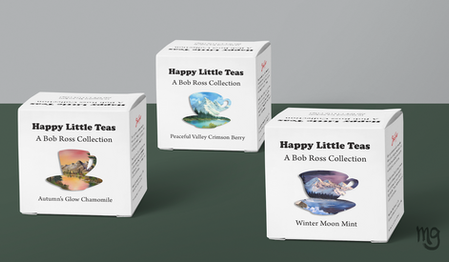 Calming Tea Collection - Packaging