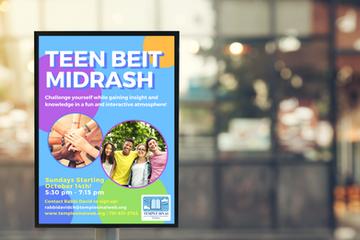Teen Beit Midrash Campaign
