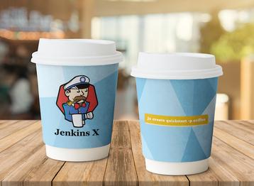 Jenkins - Paper Coffee Cup Mockup - 2019